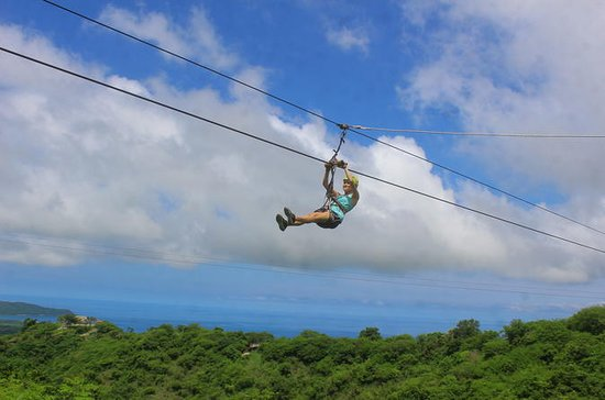 Zipline with Ocean View