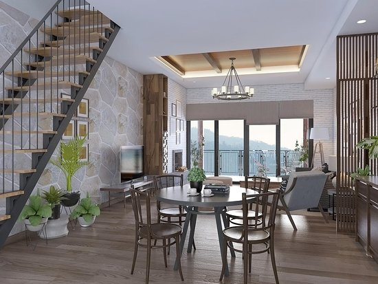 Plataran Bromo: Living Room 2nd Floor