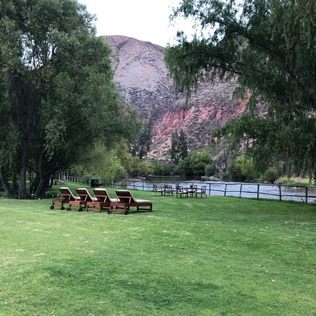 Belmond Hotel Rio Sagrado: View of the river from the grounds.