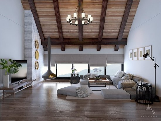 Tosari, Indonesia: Living Room Attic