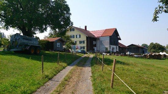 Heimenkirch, Alemania: Der Hof von unten