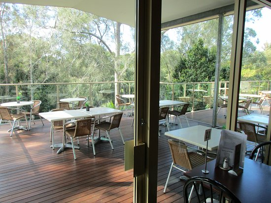 Kendall, Australia: Balcony with excellent views to the river