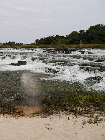 Divundu, Ναμίμπια: popa falls
