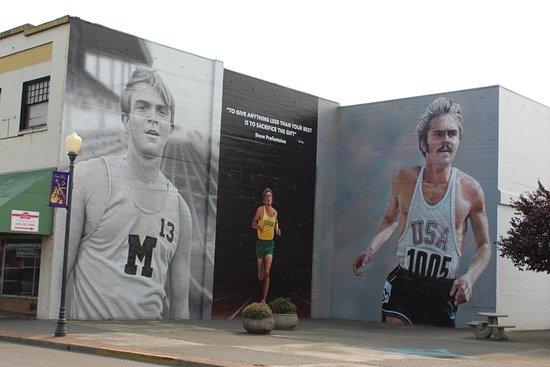 Steve Prefontaine Murals