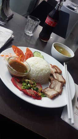 Lido Vietnamese Restaurant: Roast & BBQ Pork with rice