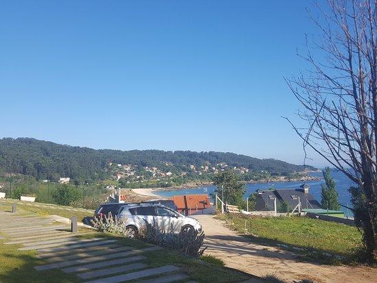 Hio, Spain: vistas desde la casa