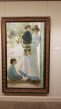 """Monserrat, Испания: """"Waiting"""" by Julio Romero de Torres (1905)"""