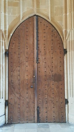 Bodleian Library: Divinity School door