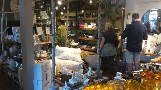 De Eetboetiek: sfeerfoto van de winkel.