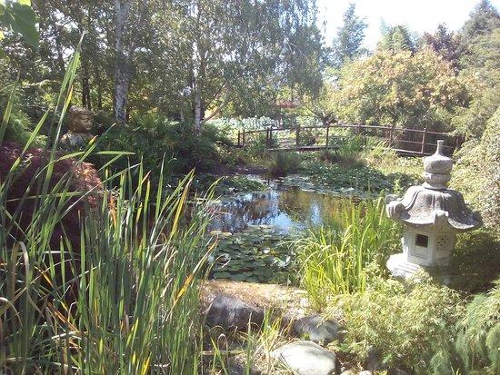 Jardins de Beauchamp : Entrée des jardins - jardin japonais
