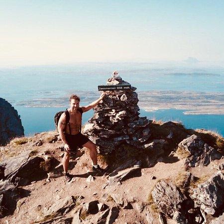 Donna Municipality, Noruega: Tur til Daønnamannen juli 2018