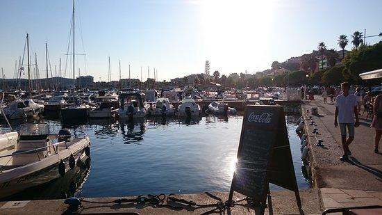 Depuis le port photo de l 39 acapulco le lavandou tripadvisor - Restaurant le lavandou port ...