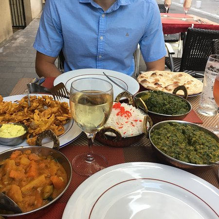 Carte Indien Restaurant.La Carte Picture Of New Indien Restaurant Beausoleil