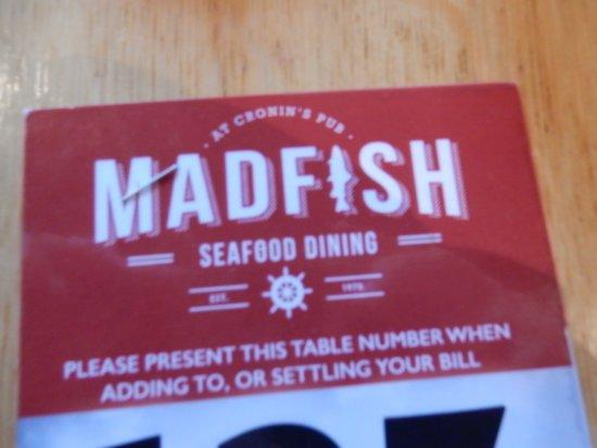 MADFISH Pub & Restaurant Crosshaven Co Cork