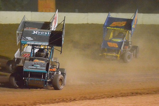 Orangeville, PA: GVAT races 4 classes of micro sprints as well as go karts