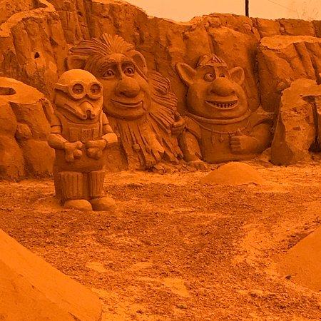 FIESA - International Sand Sculpture Festival: Algumas imagens captadas na nossa visita em 2018.