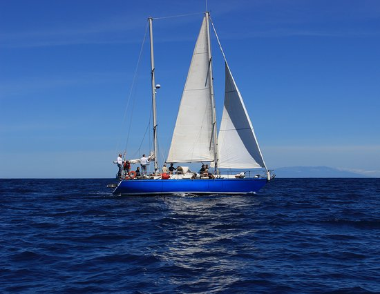 Valle Gran Rey, Spain: our sailboat HECATE