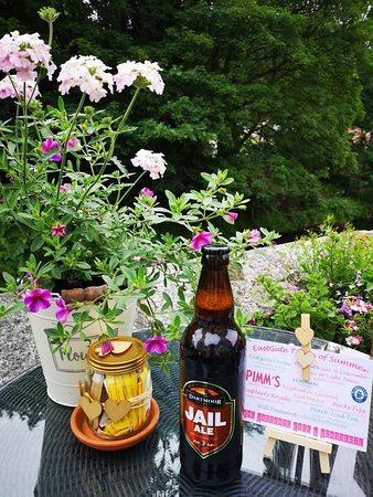 The East Gate Cafe & Brasserie: Local Produce - Jail Ale Princetown Brewery