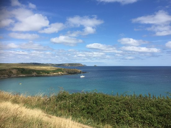 Portscatho, UK: Across to Porthcurnick