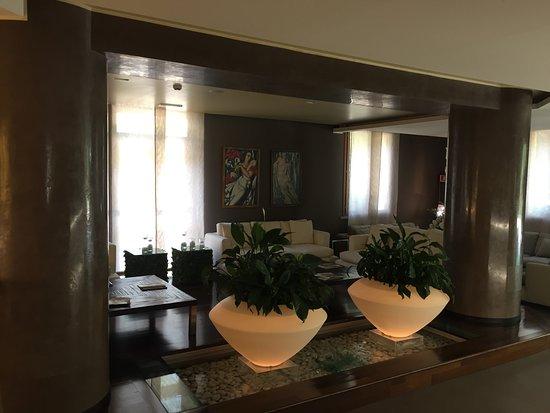 Park Motel & Hotel La Selva: reception