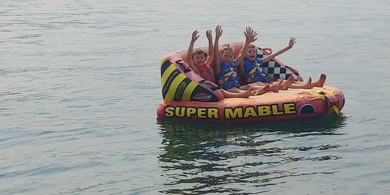 Lake Tahoe Boat Rides: My 3 grands loved this!