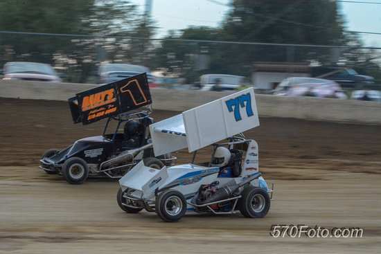 Orangeville, PA: Dirt track racing at its finest!