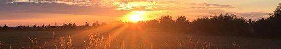 Horsey, UK: Sunset