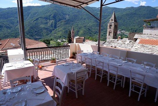 Cosio di Arroscia, Italy: Terrazza