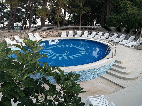 Kleiner Pool Picture Of Drazica Hotel Krk Tripadvisor
