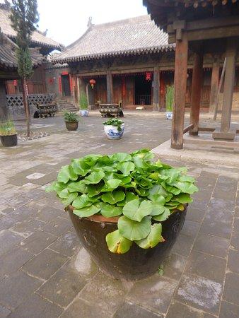 Lingshi County, China: l'intérieur du temple