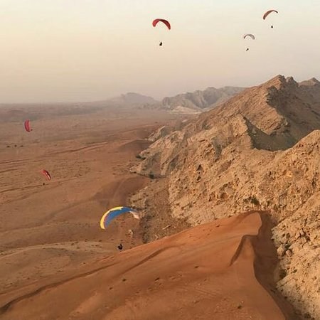 sky full of paraglider - Picture of Sky Sharjah, Dubai - TripAdvisor