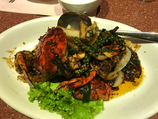 Andart Rorm Seafood Restaurant: 蟹のペッパーソース