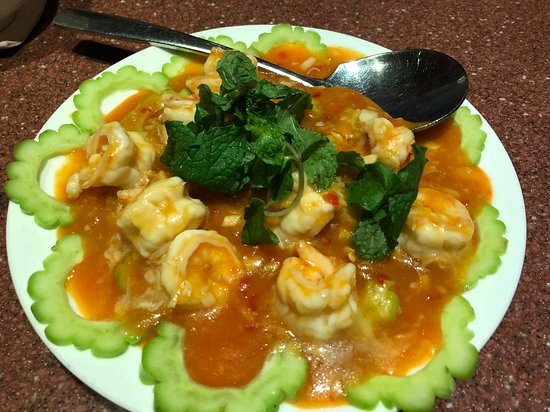 Andart Rorm Seafood Restaurant: 海老のチリソース