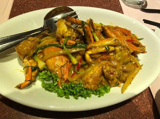 Andart Rorm Seafood Restaurant: お勧めの蟹のカレーソース