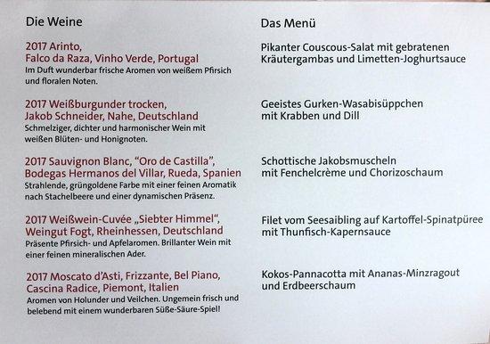Menü hamburg gourmet fischereihafen restaurant Hamburg Gourmet