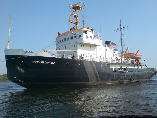 Rostock, Germany: Verschleppung der Stephan Jantzen