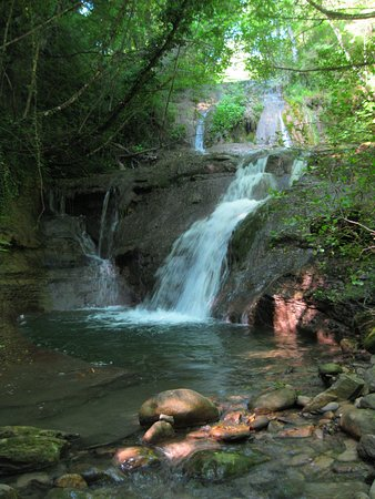 San Godenzo, Olaszország: cascate della Pretella