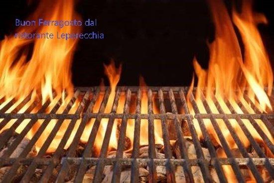 Province of L'Aquila, Italy: Buon ferragosto da tutto lo staff ristorante Leperecchia
