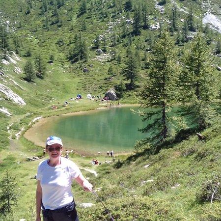 Canosio, Italien: Sentiero che conduce al lago! Visuale pazzesca!!!!
