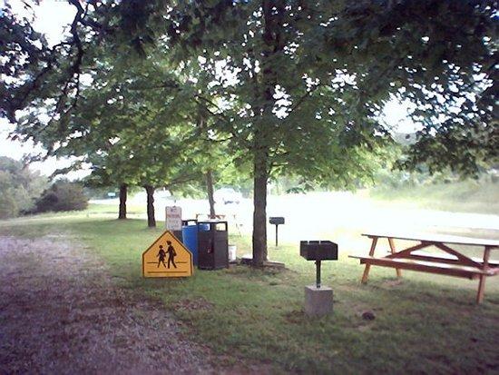Weaubleau, MO: picnic area