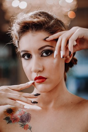 Hair Makeup And Nails Picture Of