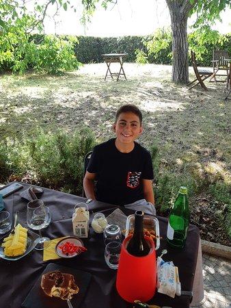 Sant'Egidio, Italien: Fine pranzo......