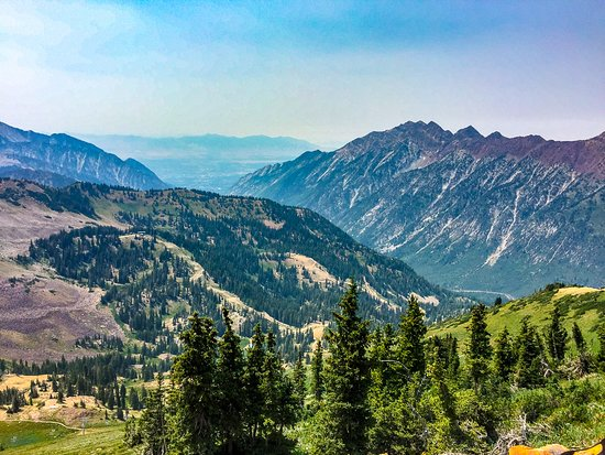Snowbird, Юта: A View From Up Top