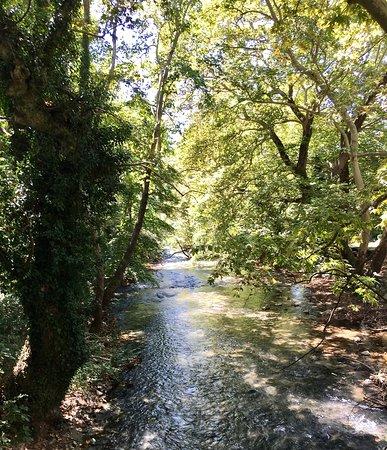 Aggitis, اليونان: Fluß Aggitis