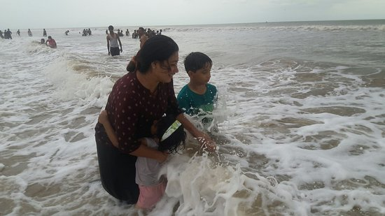 Bapatla, Ấn Độ: Surya Lanka Beach