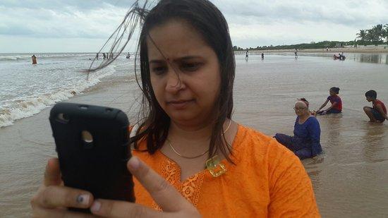 Bapatla, الهند: Surya Lanka Beach