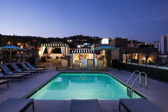Chamberlain West Hollywood: Panoramic views...