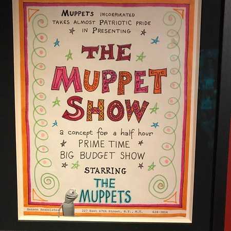 A presentation of a Muppet show - Picture of Museum of the