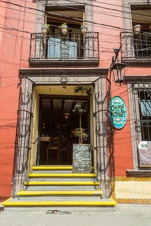 Cafe Monet: nuestra entrada