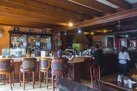 Cafe Monet: barra
